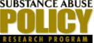 Substance Abuse Policy Research Program
